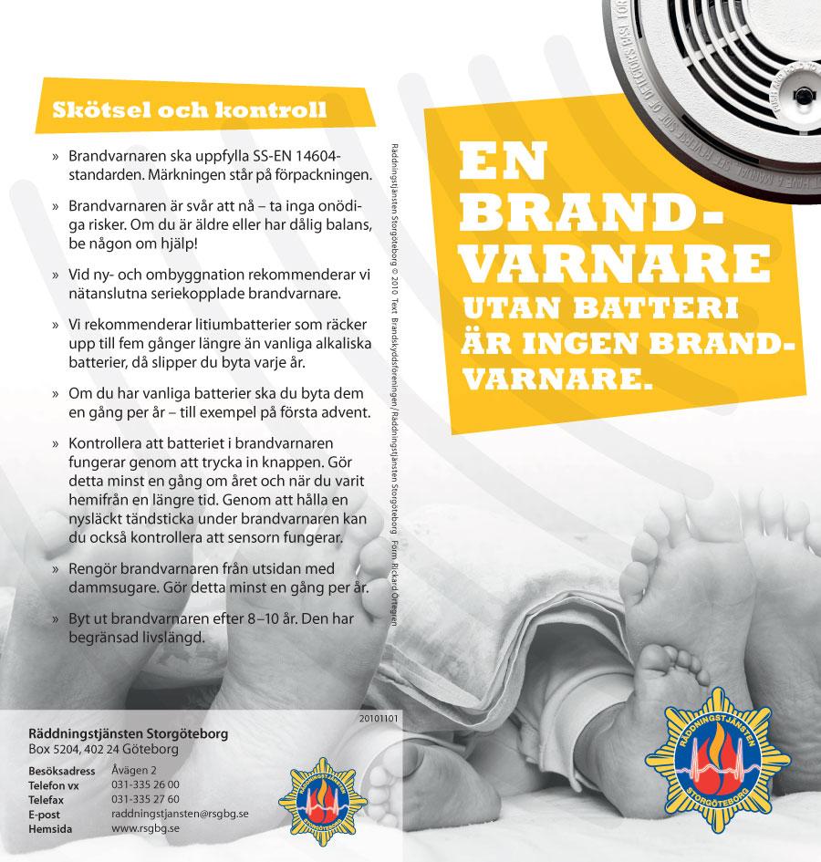 En brandvaranare utan batterier är ingen brandvarnare – sida 2